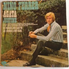 Discos de vinilo: NINO FERRER DISCO DE VINILO MAXI SINGLE AGATA + 3 CANCIONES RIVIERA PRODUCTION. Lote 47354344