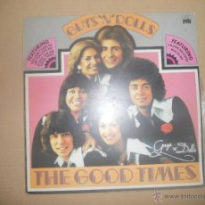 Discos de vinilo: GUYS 'N' DOLLS (LP) THE GOOD TIMES AÑO 1976 - PORTADA ABIERTA. Lote 47358617