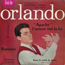 Discos de vinilo: ORLANDO EP SELLO IBEROFON-BELAIR EDITADO EN ESPAÑA AÑO 1961. Lote 47367229