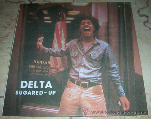 DELTA - SUGARED-UP - EP 10'' - CHÉ RECORDS (Música - Discos de Vinilo - EPs - Pop - Rock Extranjero de los 90 a la actualidad)