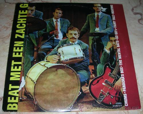 BEAT MET EEN ZACHTE G - LP 10'' RECOPILATORIO HOLANDA (Música - Discos - LP Vinilo - Pop - Rock Extranjero de los 90 a la actualidad)
