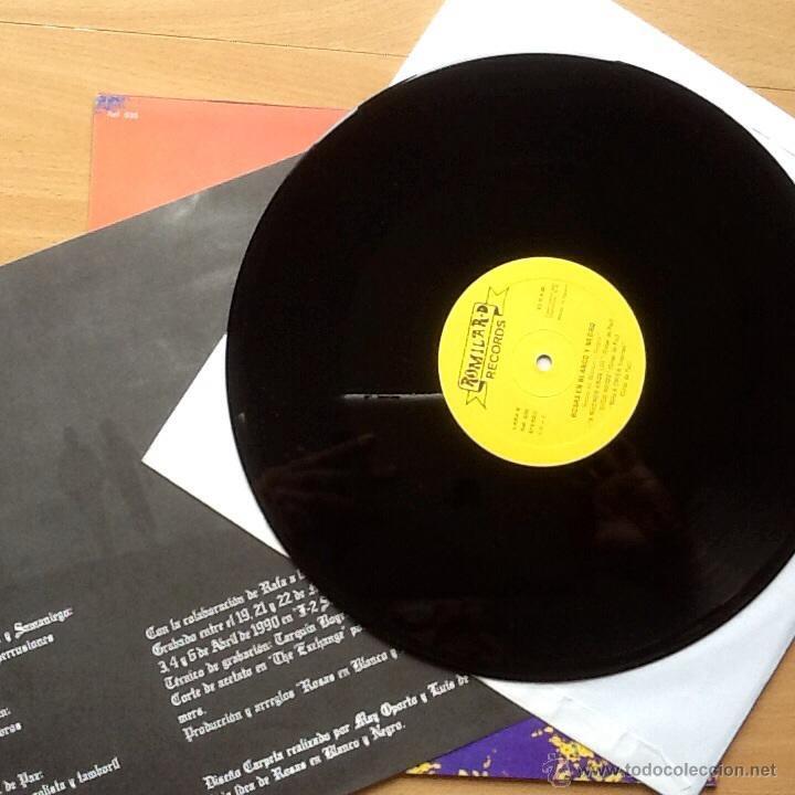Discos de vinilo: ROSAS EN BLANCO Y NEGRO - Foto 2 - 47369948