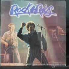 Discos de vinilo: MIGUEL RIOS ROCK&RIOS DOBLE LP EN DIRECTO 1982. Lote 47378195