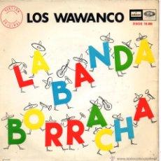 Discos de vinilo: WAWANCO, LOS, EP, LA BANDA BORRACHA + 3, AÑO 1966. Lote 47385438