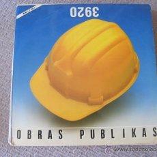 Discos de vinilo: OBRAS PUBLIKAS - S/T - MINI LP SOÑUA 1987. Lote 47387079