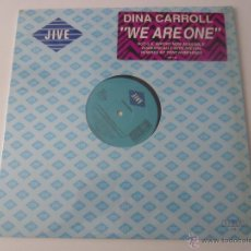 Discos de vinilo: DINA CARROLL - WE ARE ONE (ME SIENTA SOLA) (4 VERSIONES) 1989 USA MAXI SINGLE. Lote 47390109