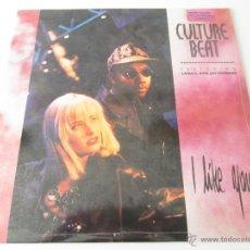 Discos de vinilo: CULTURE BEAT FEATURING LANA E. & JAY SUPREME - I LIKE YOU (5 VERSIONES) 1990 USA MAXI SINGLE. Lote 47390758