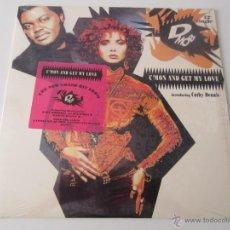 Discos de vinilo: D MOB INTRODUCING CATHY DENNIS - C'MON AND GET MY LOVE (6 VERSIONES) 1989 USA MAXI SINGLE. Lote 47390935