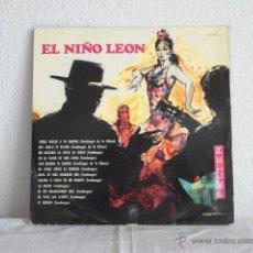 Discos de vinilo: EL NIÑO LEON-LP CON ANTONIO ARENAS. Lote 47398599