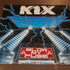 Discos de vinilo: LP DISCO VINILO KIX BLOW MY FUSE. Lote 47400824