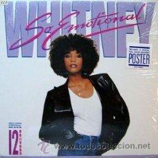 Discos de vinilo: WHITNEY HOUSTON - SO EMOTIONAL. Lote 47400996