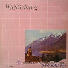 Discos de vinilo: WANGCHUNG - DANCEHALL DAYS. Lote 47401079