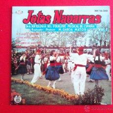 Discos de vinilo: JOTAS NAVARRAS VOL. 1 - HE DE PLANTAR UNA PARRA. Lote 47401174