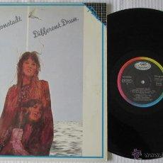 Disques de vinyle: LINDA RONSTADT - DIFFERENT DRUM - LP - CAPITOL 1985 SPAIN. Lote 47410468