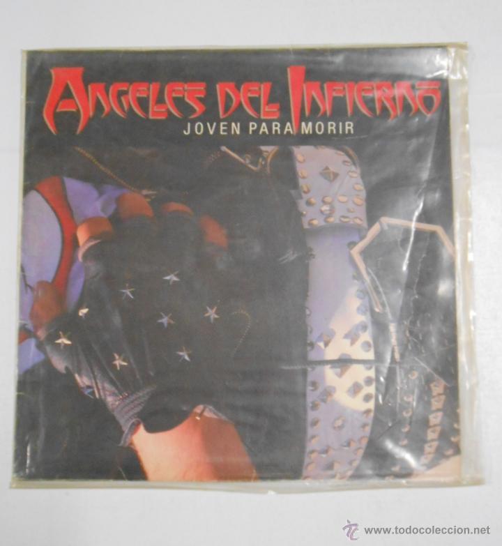 ANGELES DEL INFIERNO. - JOVEN PARA MORIR. TDKDA2 (Música - Discos - LP Vinilo - Heavy - Metal)
