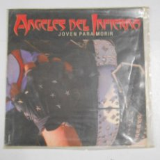 Discos de vinilo: ANGELES DEL INFIERNO. - JOVEN PARA MORIR. TDKDA2. Lote 47412504