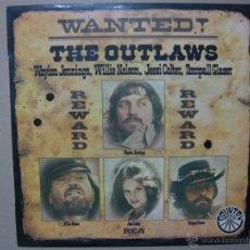 Discos de vinilo: THE OUTLAWS. WANTED!. RCA APL1-1321 LP ESPAÑA 1976. Lote 47413527