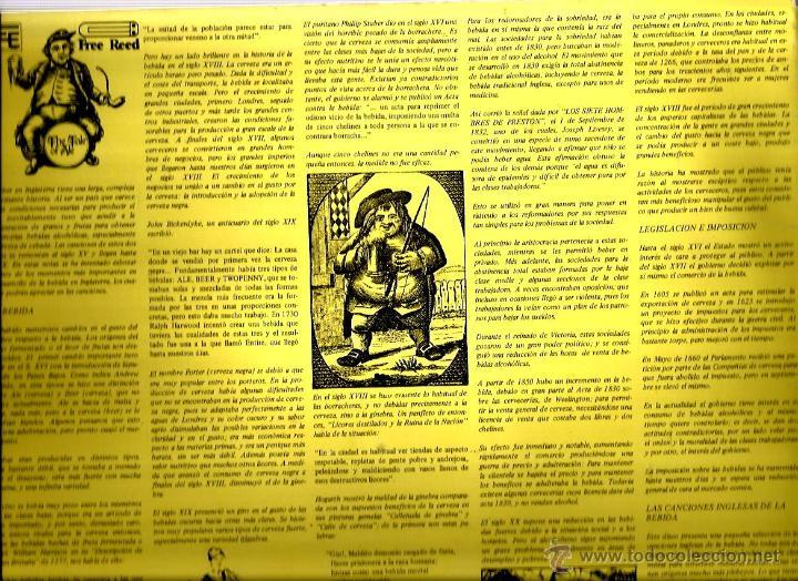 Discos de vinilo: DOBLE LP THE TALE OF ALE ( LA HISTORIA DE LA CERVEZA ) EL INGLES Y SU CERVEZA - Foto 3 - 47414036
