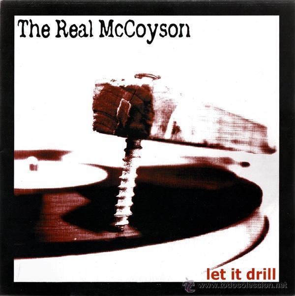 THE REAL MCCOYSON / LET IT DRILL 2003 !! COMPLETA 1ª ORG EDIT + ENCARTE, NUEVO !!!! (Música - Discos - LP Vinilo - Grupos Españoles de los 90 a la actualidad)