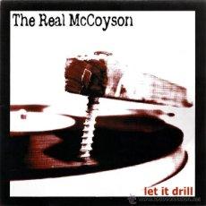 Discos de vinilo: THE REAL MCCOYSON / LET IT DRILL 2003 !! COMPLETA 1ª ORG EDIT + ENCARTE, NUEVO !!!!. Lote 47417292