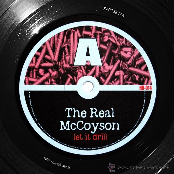 Discos de vinilo: THE REAL MCCOYSON / LET IT DRILL 2003 !! completa 1ª org edit + encarte, nuevo !!!! - Foto 3 - 47417292