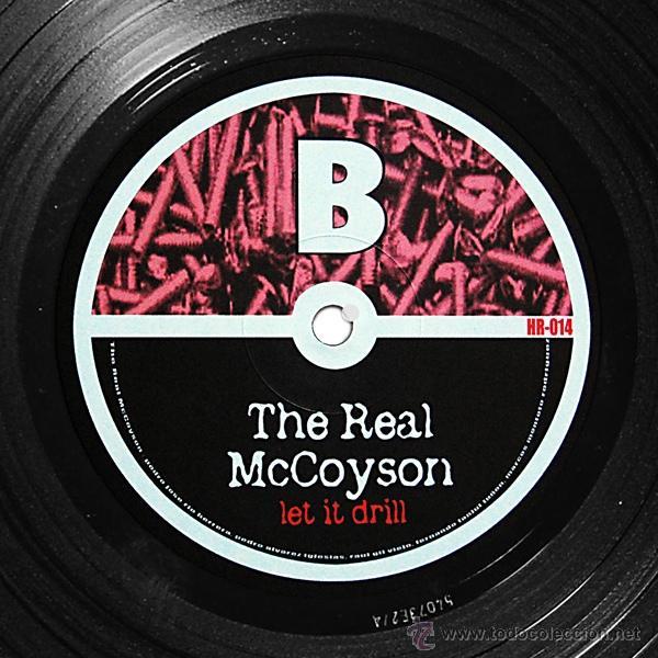 Discos de vinilo: THE REAL MCCOYSON / LET IT DRILL 2003 !! completa 1ª org edit + encarte, nuevo !!!! - Foto 4 - 47417292