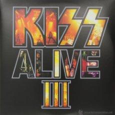Discos de vinilo: 2LP KISS ALIVE III VINILO 180G + MP3 DOWNLOAD HEAVY METAL. Lote 76078571