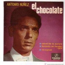 Discos de vinilo: ANTONIO NUÑEZ ( EL CHOCOLATE ).EP.COLUMBIA.1966. Lote 47425575