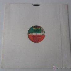 Discos de vinilo: LIEUTENANT STITCHIE (STEVE SILK HURLEY) - DRESS TO IMPRESS (3 VERSIONES) MAXI SINGLE 1989 USA. Lote 47430598
