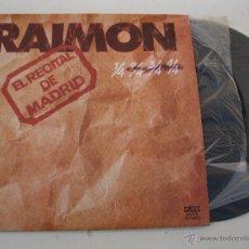 Discos de vinilo: LP DOBLE - RAIMON - EL RECITAL DE MADRID - MOVIEPLAY - AÑO 1976.. Lote 47431630