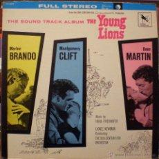 Discos de vinilo: YOUNG LIONS - HUGO FRIEDHOFER. Lote 47432206