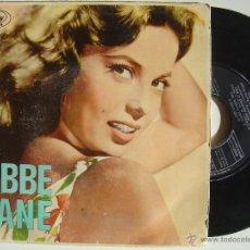 Discos de vinilo: ABBE LANE CON XAVIER CUGAT*ADIOS PAMPA MIA + 3*EP 45 MERCURY 1963. Lote 47432834
