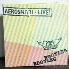 Discos de vinilo: AEROSMITH - LIVE BOOTLEG 2 LP. Lote 47433696