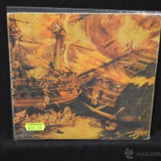 Discos de vinilo: LOS NIKIS - SANGRE EN EL MUSEO DE CERA +3 - EP. Lote 47434960