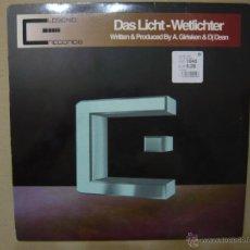Dischi in vinile: DAS LICHT. WELTLICHTER LEGEND RECORDS LGMX019 MAXI. ESPAÑA 2001. Lote 47435771