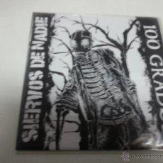Discos de vinilo: 100 GRADOS / SIERVOS DE NADIE ?– SIERVOS DE NADIE / 100 GRADOS -EP-N.. Lote 47436056