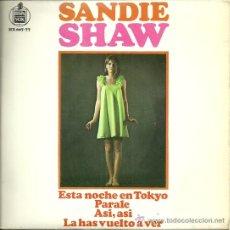 Discos de vinilo: SANDIE SHAW EP SELLO HISPAVOX AÑO 1967 EDITADO EN ESPAÑA. Lote 47439564