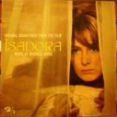 Discos de vinilo: ISADORA - MAURICE JARRE. Lote 47445096