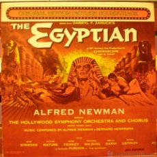 Discos de vinilo: THE EGYPTIAN - ALFRED NEWMAN. Lote 47446168