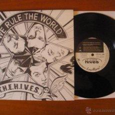 Discos de vinilo: THE HIVES - WE RULE THE WORLD 10 RARO. Lote 47448872