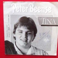 Discos de vinilo: PETER BEENSE - TINA. Lote 47452236