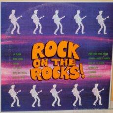 Discos de vinilo: ROCK ON THE ROCKS - VARIOS ARTISTAS DRIPS - 1977. Lote 47453683