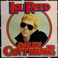 Discos de vinilo: LOU REED -SALLY CAN'T-DACE. Lote 47453798