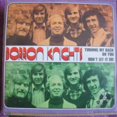 Discos de vinilo: BARRON KNIGHTS - TURNING MY BACK ON YOU / DON'T LET IT DIE (SOLO PORTADA). Lote 47455399