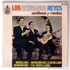 Discos de vinilo: LOS HERMANOS REYES.EP.HISPAVOX.AÑO 1964. Lote 47456169