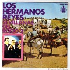 Discos de vinilo: LOS HERMANOS REYES.EP.HISPAVOX.AÑO 1968. Lote 47456206