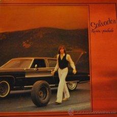 Discos de vinilo: SALVADOR - RECIEN PINCHADO - LP RARO DE VINILO COMPLETO - HEAVY METAL. Lote 47456442