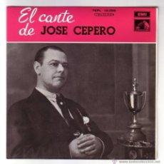 Discos de vinilo: JOSÉ CEPERO.EP.EMI-ODEON.AÑO 1958. Lote 47457696