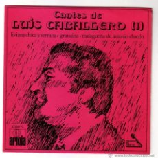 Discos de vinilo: LUIS CABALLERO.EP.ARIOLA.AÑO 1971. Lote 47457727