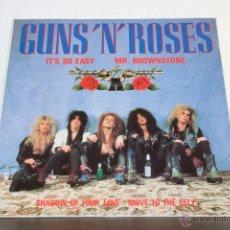 Discos de vinilo: GUNS & ROSES - IT'S SO EASY - MR BROWNSTONE MAXI. Lote 47458516